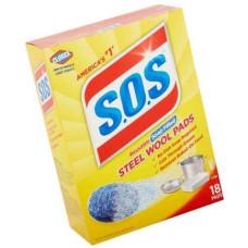 Моющее средство SOS Steel Wool Pads